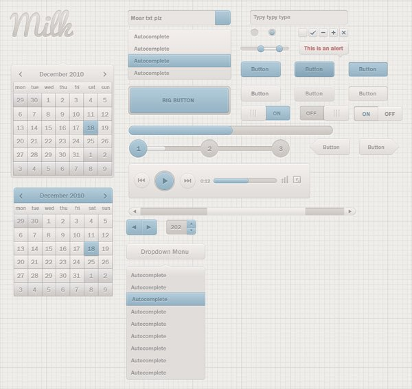04_milk_ui_kit_freebie