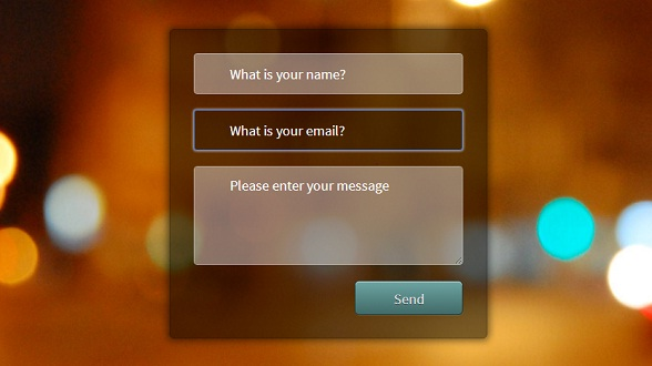 css3-transparent-contact-form