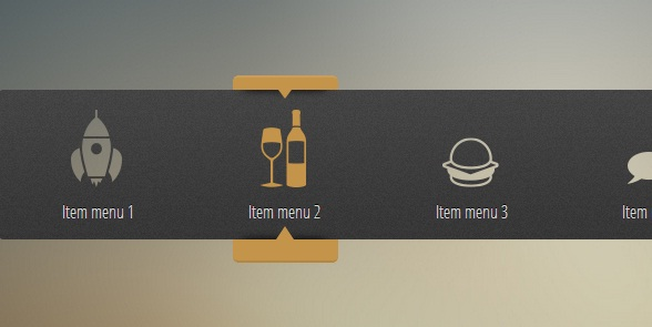 html5-css3-fluid-menu-with-icon